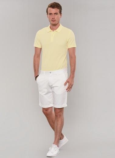 Morhipo Beach Polo Yaka Tişört Sarı